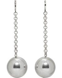 Isabel Marant Silver Blind Earrings