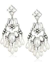 Martine Wester Jewelry Society Statet Earrings