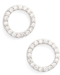 Jules smith betty pave stud earrings medium 4952578