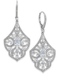 Kate Spade Eliot Danori Romantic Cubic Zirconia Drop Earrings