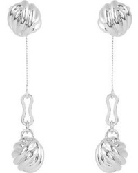 Balenciaga Knot Drop Earrings