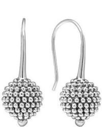 Lagos Sterling Silver Caviar Ball Earrings