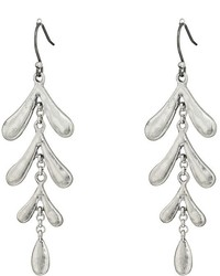 Lucky Brand Leaf Motif Earrings Earring