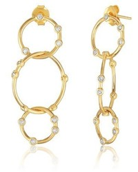 Melinda Maria Link Drop Earrings