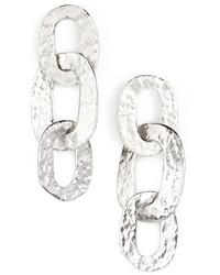 Oscar de la Renta Link Drop Earrings