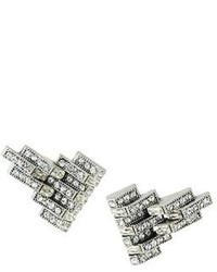 Lulu Frost Satellite Clip On Crystal Earrings