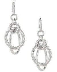 Michael Kors Michl Kors Brilliance Crystal Drop Earringssilvertone
