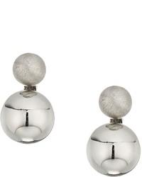 Rebecca Minkoff Mini Double Sphere Stud Earrings Earring