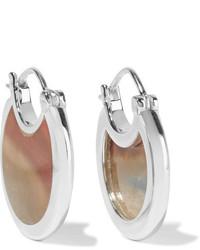 Pamela Love Mojave Silver Jasper Earrings