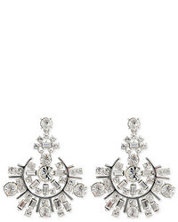 Kate Spade New York Accessories Rhodium Spark Earrings