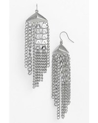 Nordstrom Vintage Girl Tassel Drop Earrings