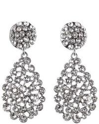 Oscar de la Renta Teardrop Earrings