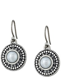 Lucky Brand Pearl Small Drop Earrings Earring