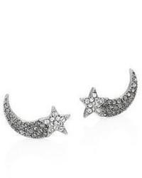 Marc Jacobs Shooting Star Crystal Stud Earrings