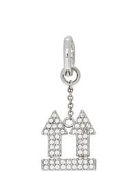 Off-White Silver Arrows Earring