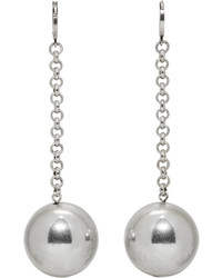 Isabel Marant Silver Blind Earrings