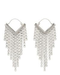 Isabel Marant Silver Melting Earrings
