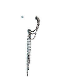 MM6 MAISON MARGIELA Silver Multi Wear Crystal Earrings