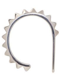 Saskia Diez Silver Pav Ear Cuff