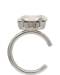 MM6 MAISON MARGIELA Silver Polished Ear Single Cuff