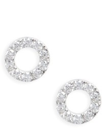 Bony Levy Simple Obsessions Geo Circle Diamond Stud Earrings