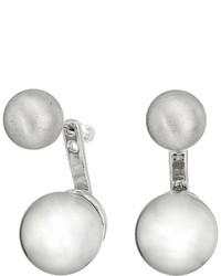 Rebecca Minkoff Sphere Front Back Earrings Earring