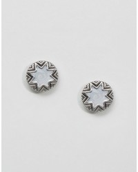 House Of Harlow Star Burst Stud Earrings
