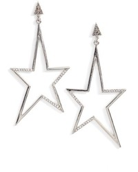 Rebecca Minkoff Stargazing Star Earrings