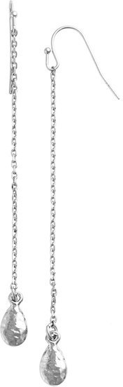 Nordstrom Teardrop Charm Chain Earrings