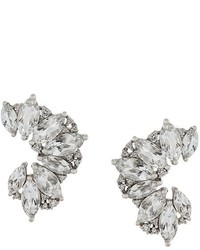 Elise Dray Topaz Diamond Earrings