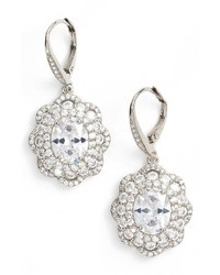 Nina Vintage Drop Crystal Earrings