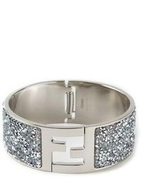Fendi Embellished Bangle