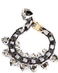 Lanvin Crystal Embellished Bracelet