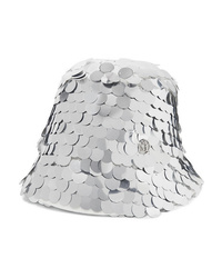 Maison Michel Souna Paillette Embellished Tulle Bucket Hat
