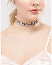 Her Curious Nature Bridal Crystal Embellished Choker