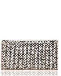 Nina Metallic Beaded Clutch