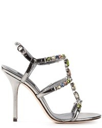 Dolce & Gabbana Embellished Strappy Sandals