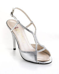 Red Carpet Elive From The Embellished Satin Sandals