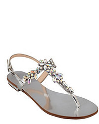 Ivanka Trump Faye Embellished Flat Sandals