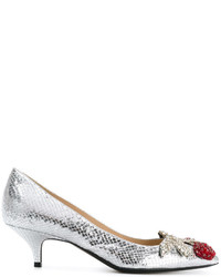 No.21 No21 Embellished Low Pumps