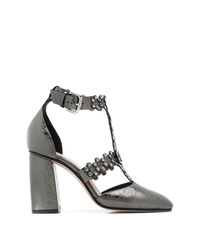 RED Valentino Red Studded Side Pumps
