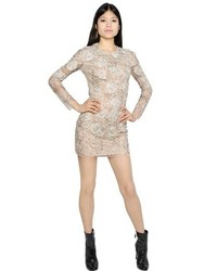 Blumarine embellished tulle dress medium 289120