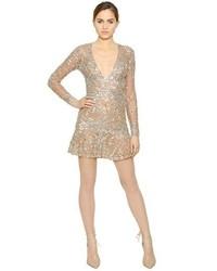 Sequin embellished tulle dress medium 289119