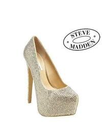 Steve Madden Official Dandy Pumps Silver
