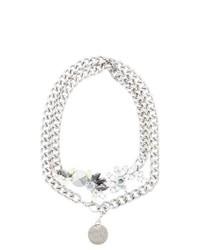 Patrizia Pepe Waist Belt Silver