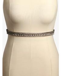 Torrid Gemstone Chain Link Stretch Belt