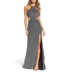 Metallic jersey gown medium 1249309