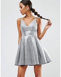 Asos Night High Apex Bonded Mini Prom Dress