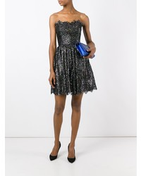 Saint Laurent Strapless Cocktail Dress