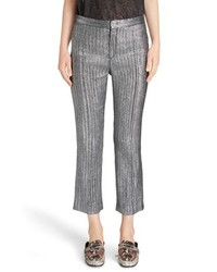 Isabel Marant Dansley Party Time Lame Crop Pants